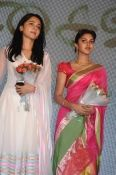 anushka and amala paul in saivam movie audio launch..