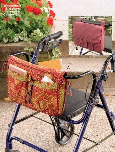 Kwik Sew 3927 - Wheelchair & Walker Carryall & Carrier Bag
