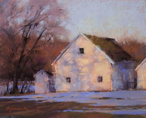 Daily Paintworks - Barbara Jaenicke           I love the shadows in this work