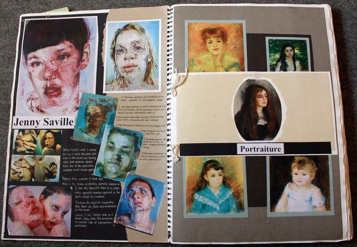 A2 Art Coursework Sketchbook - A* (full marks) - YouTube
