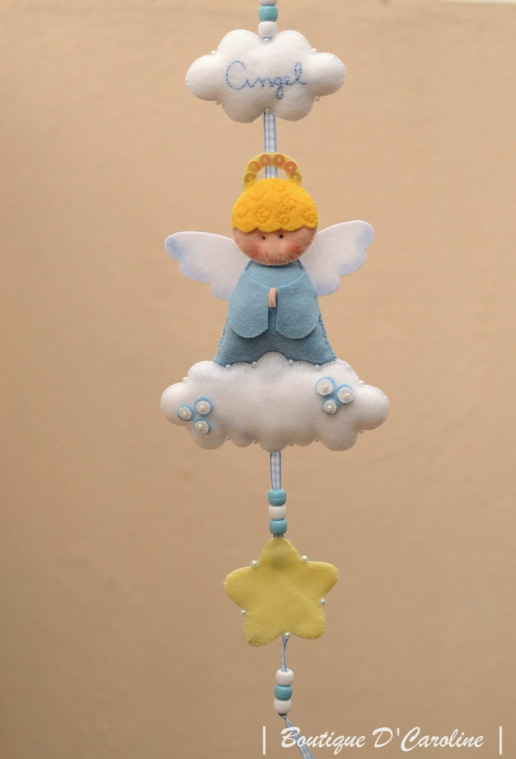 lovely baby gift - angel to watch over the baby !