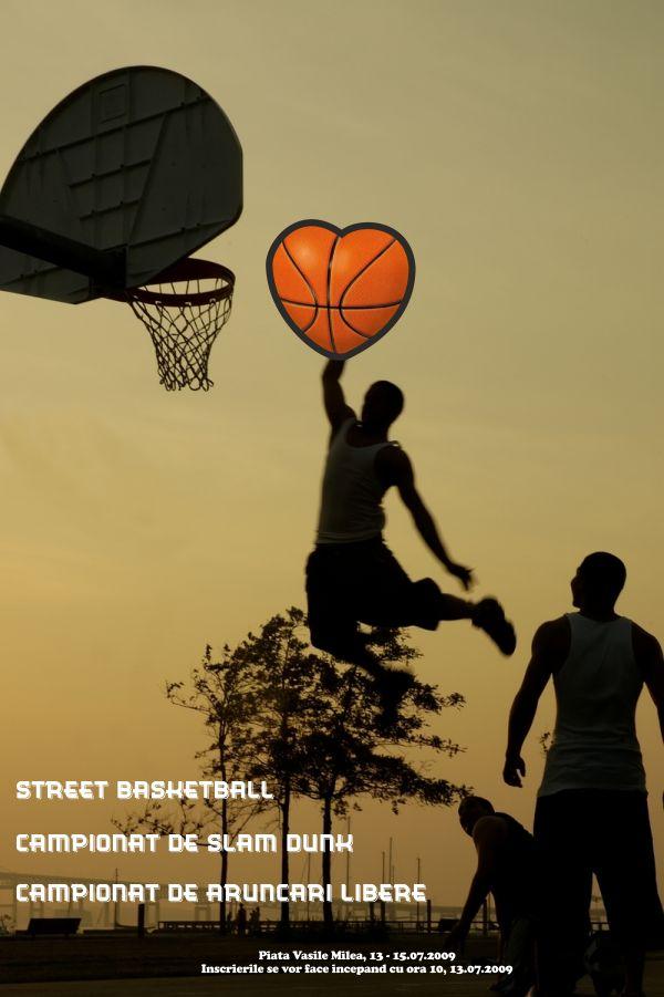 Flyers / Pliante Design - Basketball - CoMas Advertising