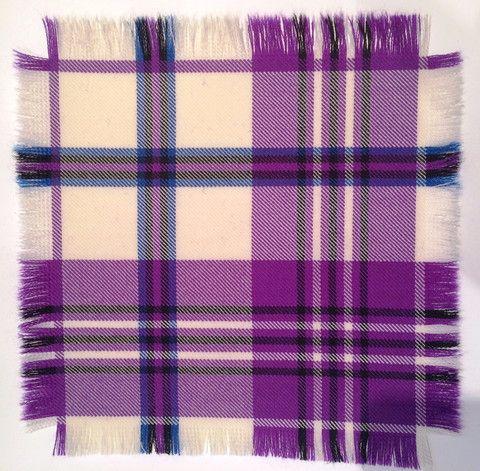 Purple Scott - 100% Wool Tartan Fabric – Highland In Style