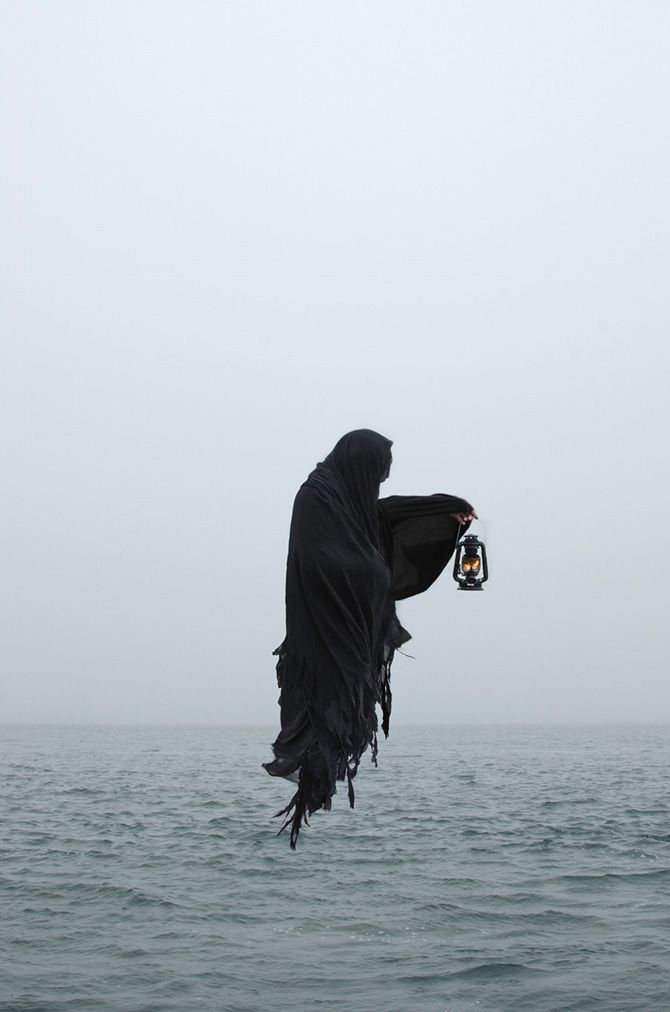 Daniel Vazquez (American Ghoul) is a photographer from the San Fransisco Bay Area who creates haunting images inspired by the dark and occult.