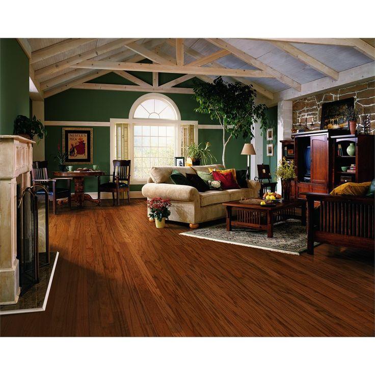 Style Selections 3-in Gunstock Oak Engineered Hardwood