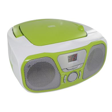 "Portable Radio/CD Stereo player "" Fly"" Acid Green"