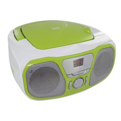 "Portable Radio/CD Stereo player "" Fly"" Acid Green"