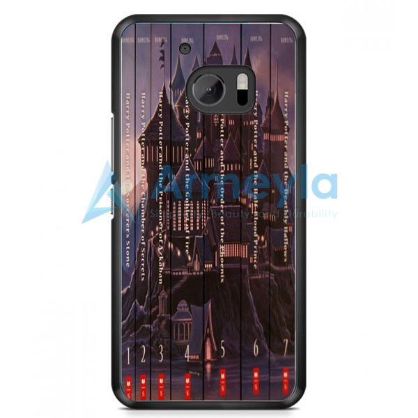 Harry Potter Book Collection HTC One M10 Case | armeyla.com