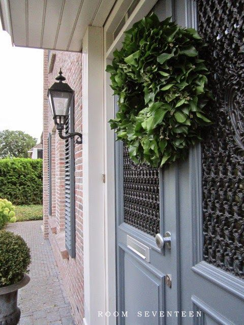 Our exterior colors. Room Seventeen