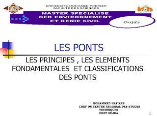 présentation ppt sur les ponts en génie civil | cours génie civil WWW.JOGA.C.LA - cours, exercices corrigés et videos