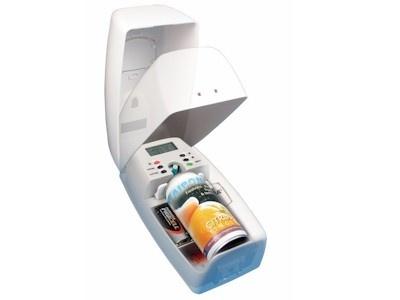 Vectair airoma automatic aerosol dispenser white ensure - Automatic bathroom air freshener ...
