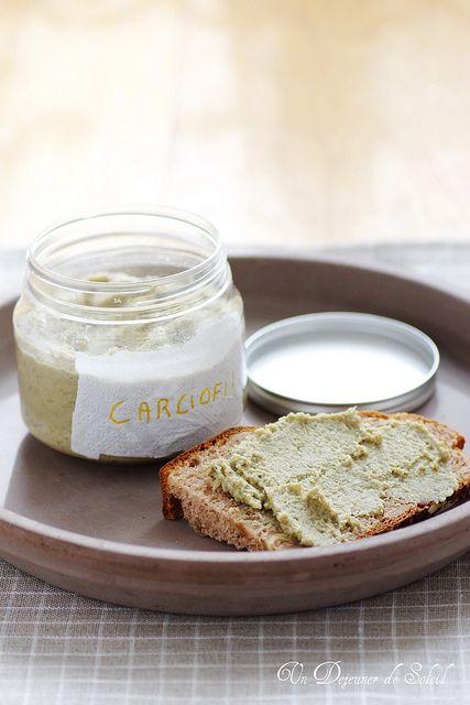 Crema di carciofi al mascarpone e parmigiano