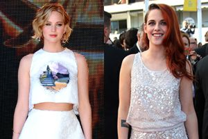 How to Dress for a Summer Party, Courtesy of Jennifer Lawrence and Kristen Stewart at Cannes