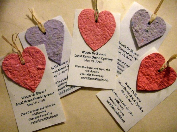 homemade seed paper favors - Craftaholics Anonymous®