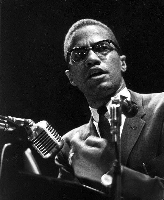 Malcolm x (Omaha, 19 maggio 1925 – New York, 21 febbraio 1965)