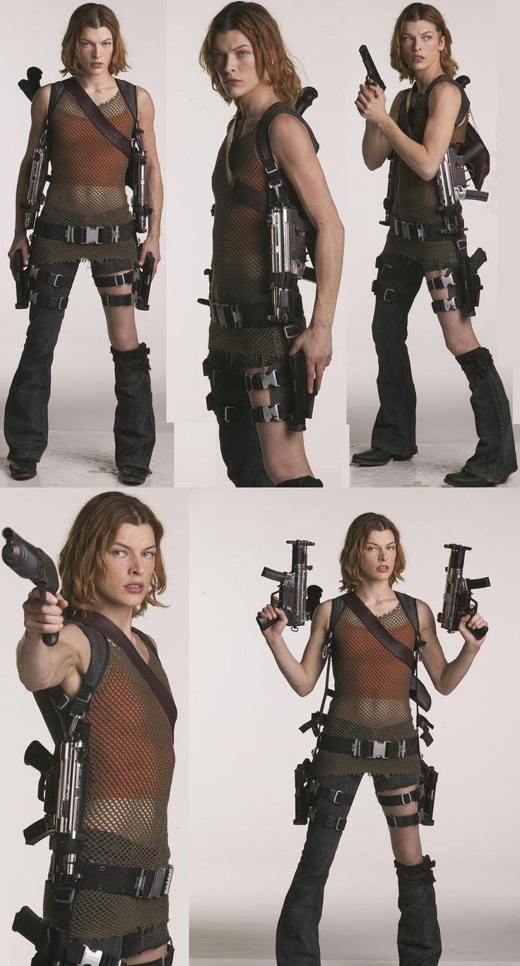 Alice from Resident Evil Apocalypse