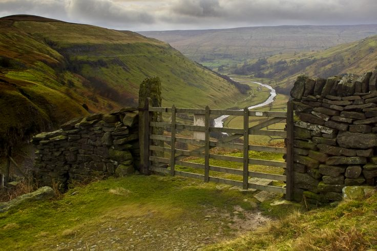 "wanderthewood: "" Swaledale, Yorkshire Dales National Park, England by Tall Guy """