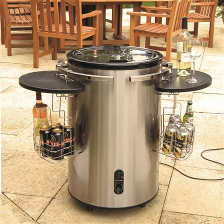 Lifestyle Stainless Steel Electric Drinks Cooler