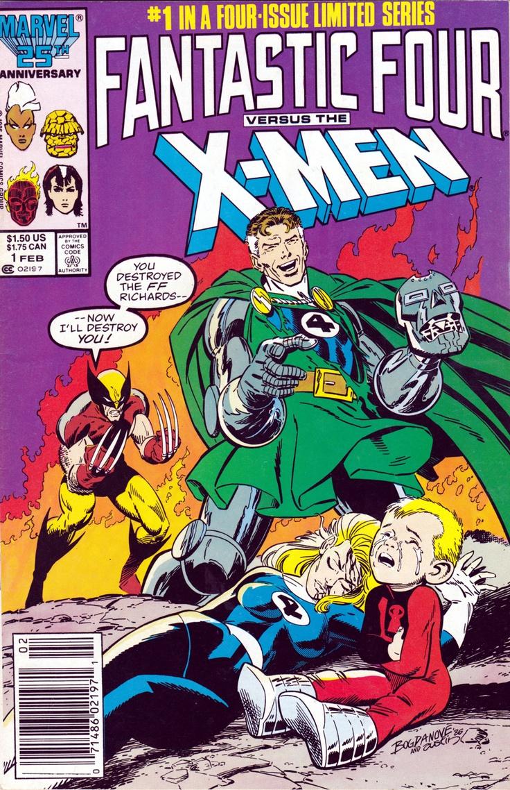 FANTASTIC FOUR VS. X-MEN #1