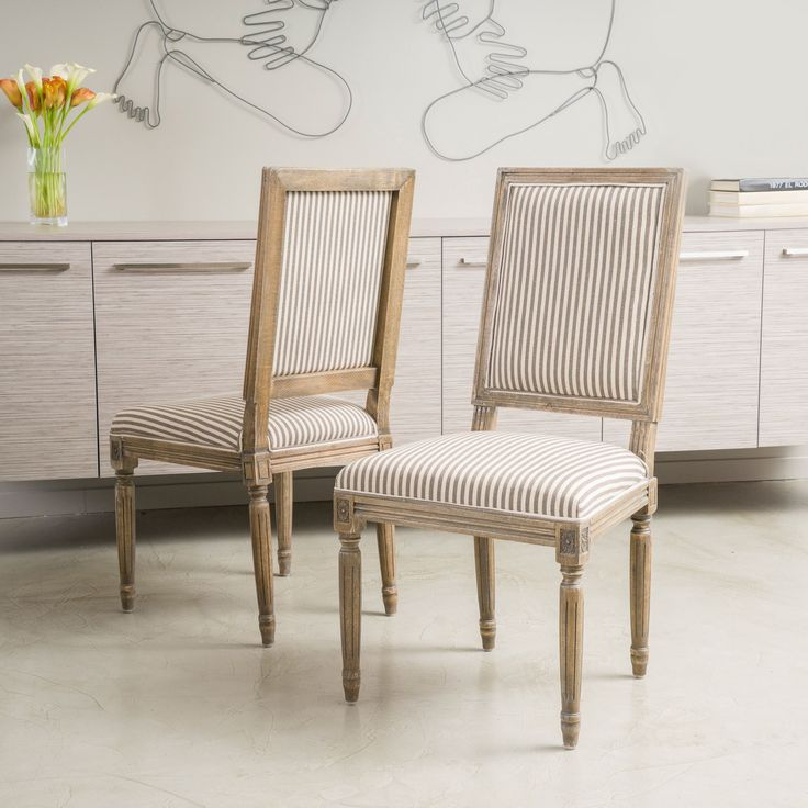 Madison Weathered Oak Dining Chair
