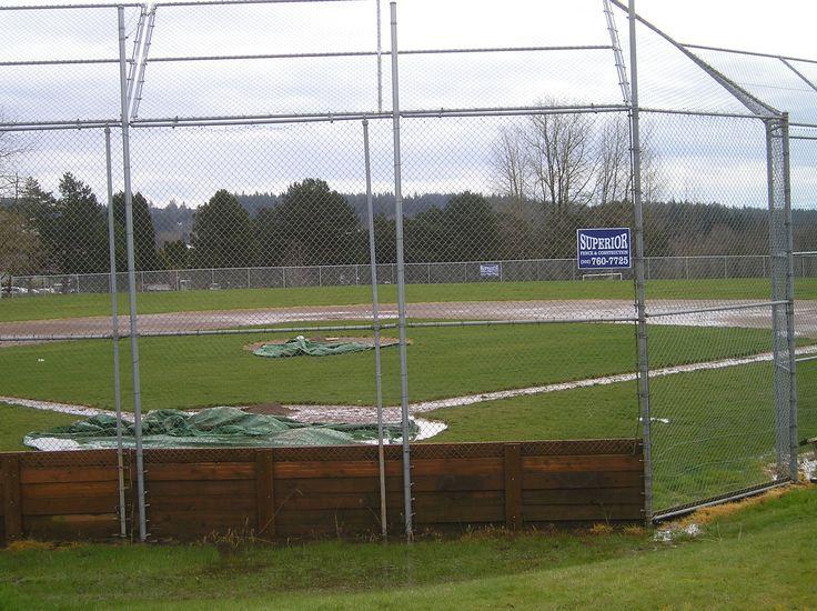 Baseball Backstop 503 760 7725 Fence Contractor Wood Fence Contractors