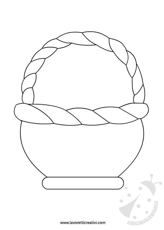 Húsvéti kosarak: sablonok munkahelyek