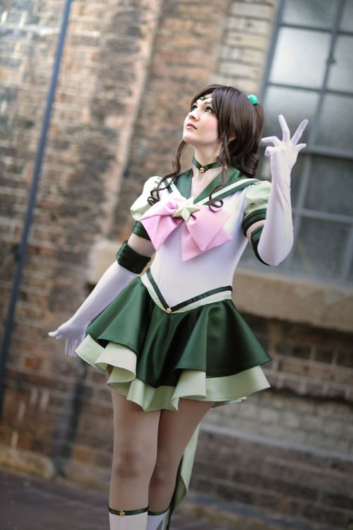 Eternal Sailor Jupiter Cosplayed (& made) by Breathless-ness Photographed by peppanda Source: fyeahsailormooncosplay via Deviantart