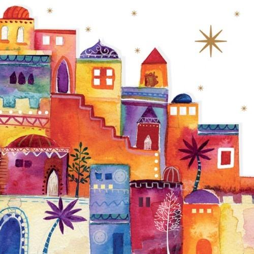 Amnesty Christmas Card; Bethlehem