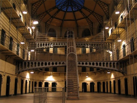 Kilmainham Gaol - Yes, we know it is a prison but there is a reason why it is used in the majority of films & tv series produced in Europe!!