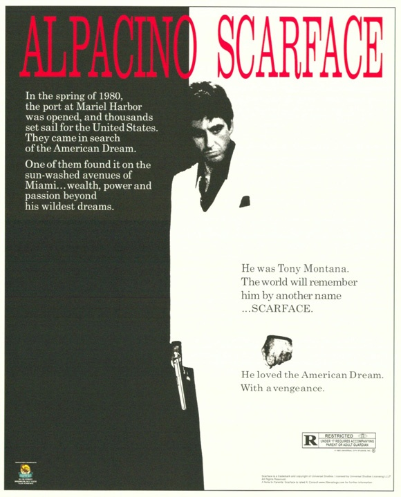 Scarface - Pacino at his best.