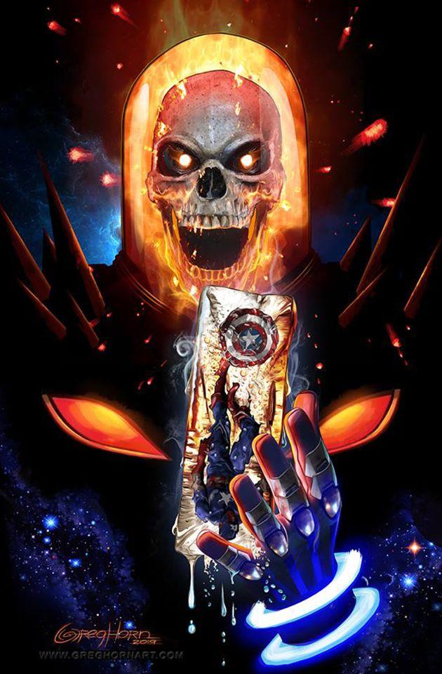 Cosmic Ghost Rider Destroys Marvel History #1 - Greg Horn C2E2