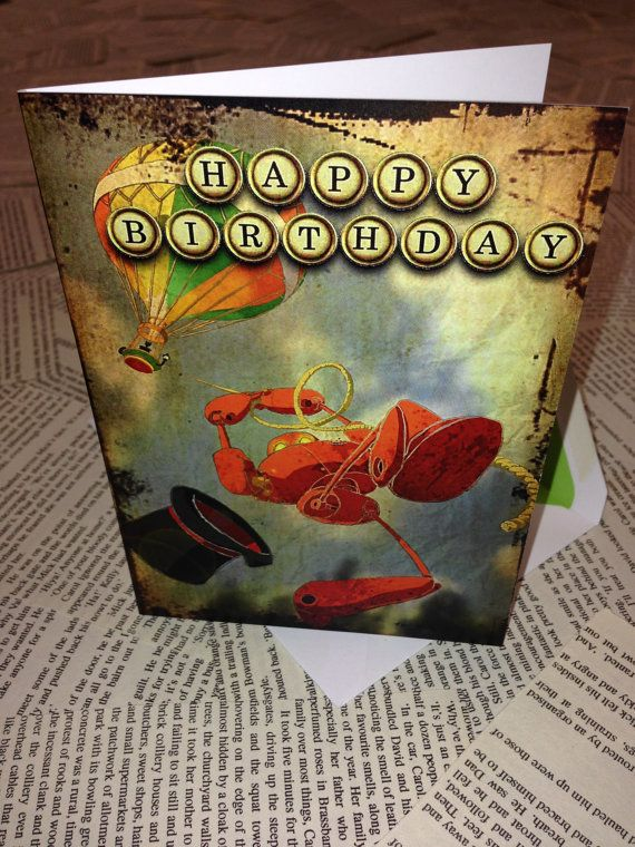 20 best Steampunk Robot Birthday Card with The Coggingtons Ideas – Steampunk Birthday Card