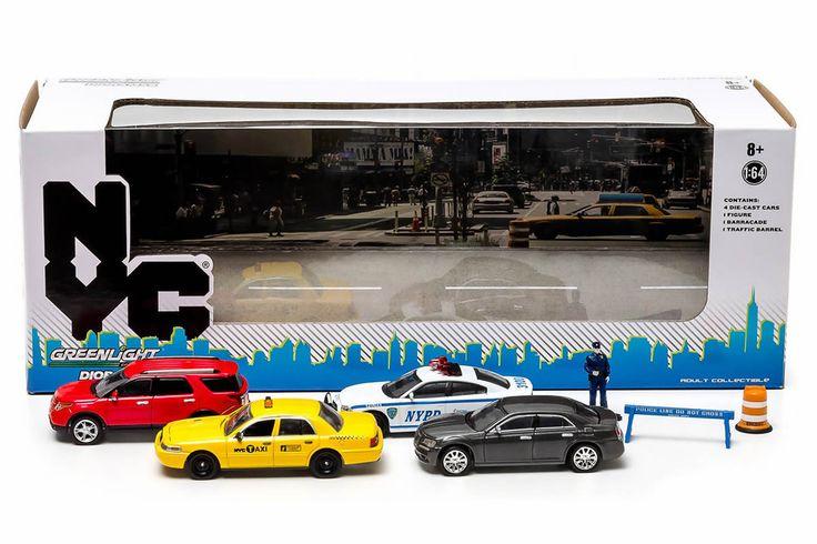 Greenlight New York City Traffic Scene Diorama (56090) – Modelmatic