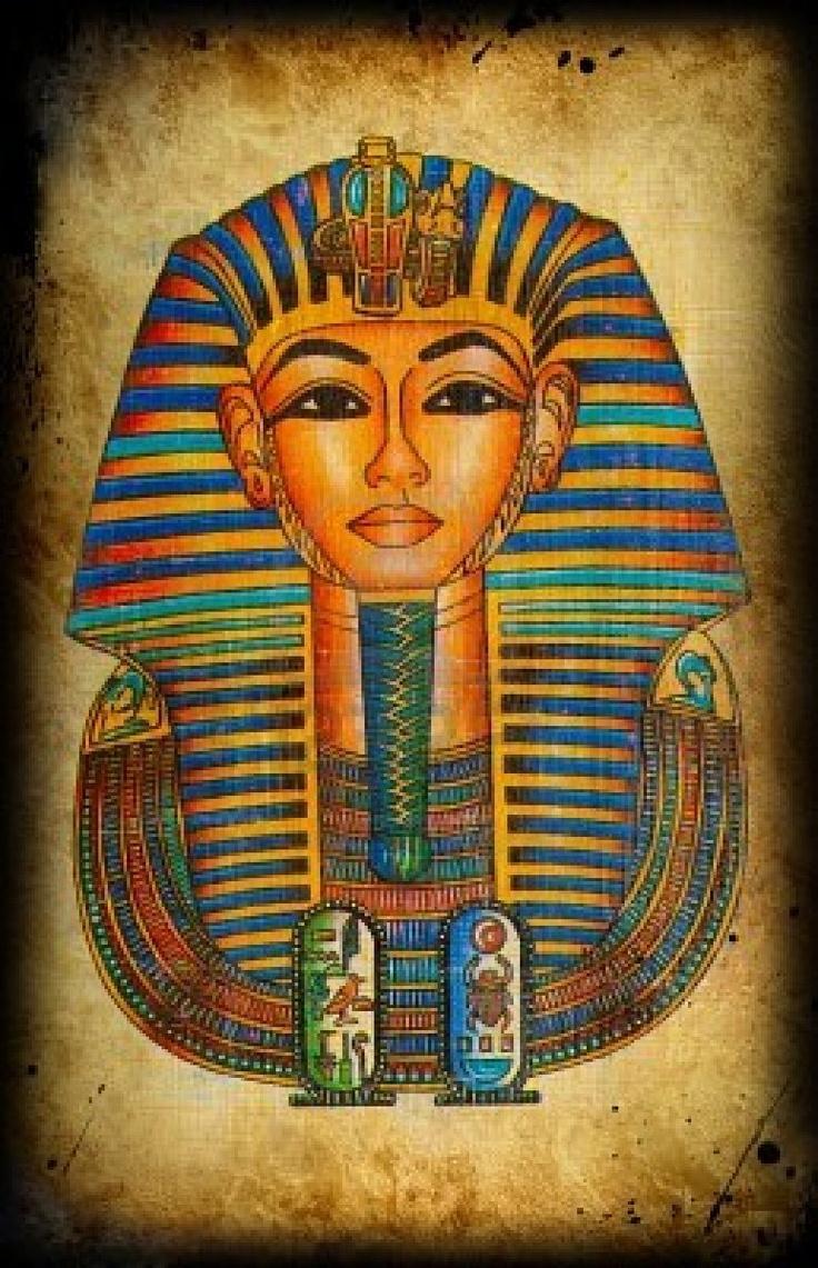 Ancient Egyptian Tarot Deck: Egyptian Natural Papyrus