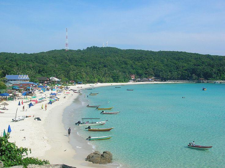 Long beach, Kecil, The Perhentian Islands, Malaysia