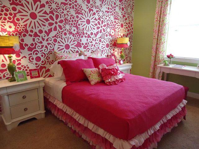 pink bedroom wall ideas. beautiful ideas. Home Design Ideas