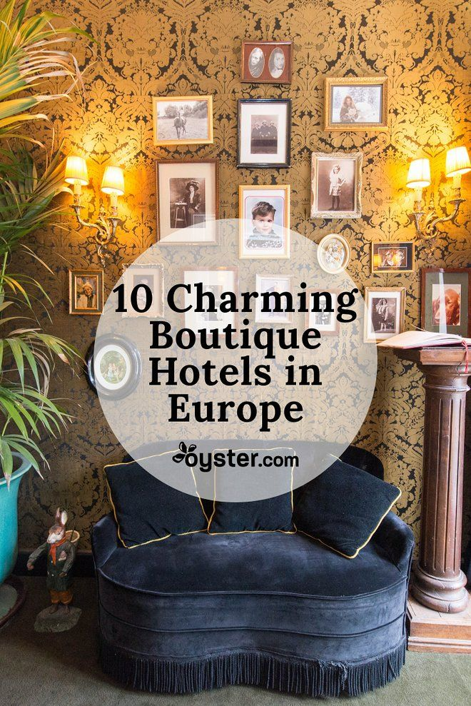 Europe has a wealth of stylish boutique properties that make for charming alternatives to the corporate chain hotels.
