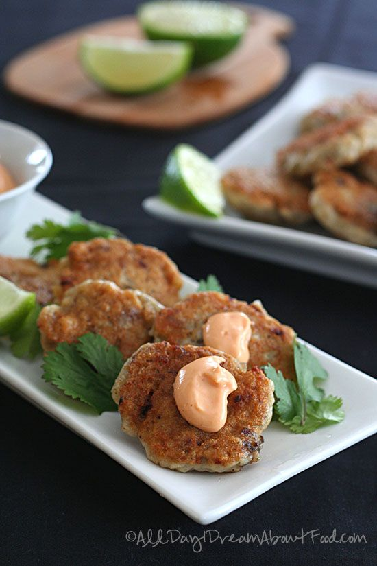 Thai fish cakes with spicy mayo recipe hot sauces for Thai fish recipe