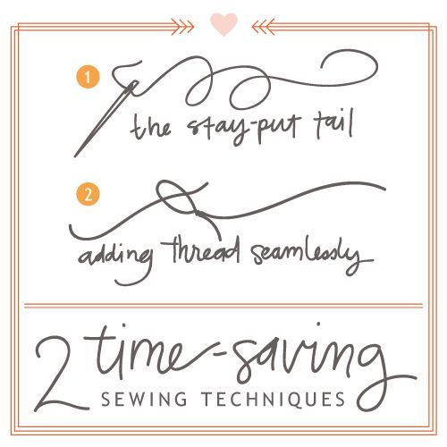 isly-two-hand-sewing-time-saving-techniques: Hands Sewing Time Sav, Sewing Tips, Simple Hands Sewing, Simple Handsew, Friday Sewing, Hands Sewing Techniques, Hands Sewing Tutorials, Easy Sewing, Crafty Ideas