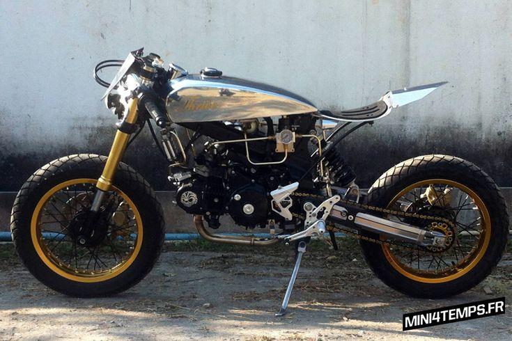 le honda msx 125 cafe racer de thrive motorcycles pinterest bikes mini bike and. Black Bedroom Furniture Sets. Home Design Ideas
