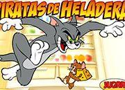 Tom y Jerry Piratas de la Heladera