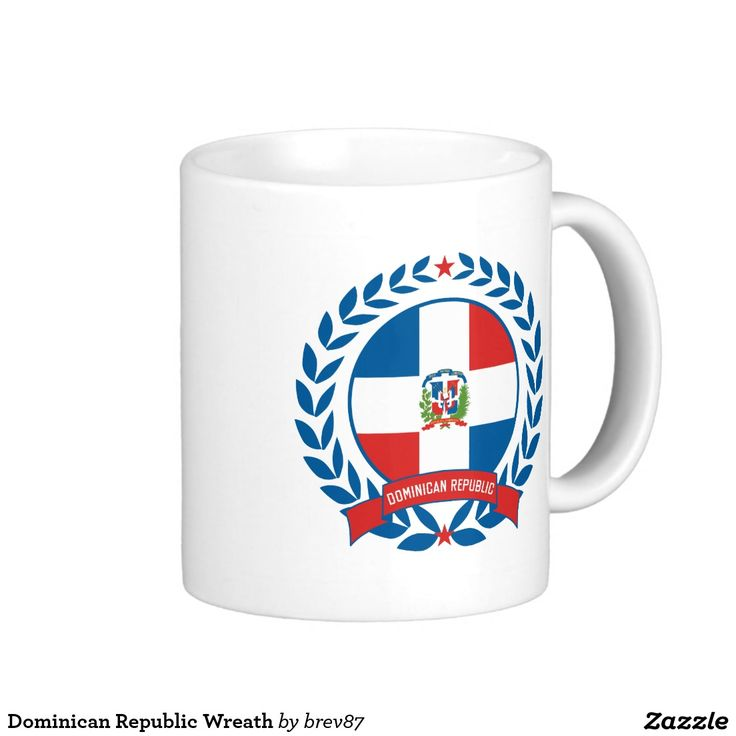 Dominican Republic Wreath Coffee Mug