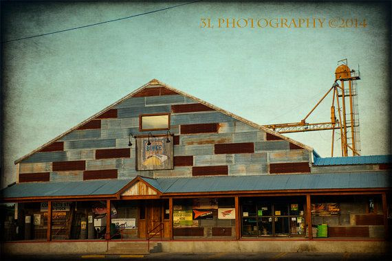 Texas Photography Industrial Fine Art Photograph by 3LPhotography, $25.00