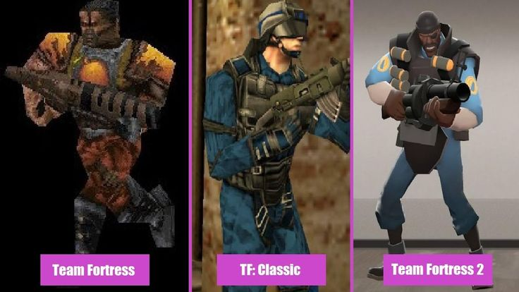 All Team Fortress Game Comparisons (Sniper & Soldier Gameplay) #games #teamfortress2 #steam #tf2 #SteamNewRelease #gaming #Valve