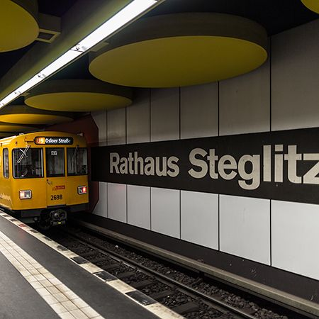 Berlin's U9 underground line – a photographic reflection of its route and stations