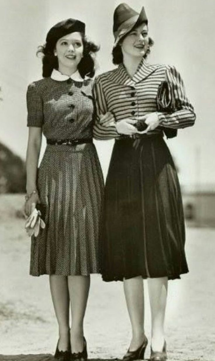 1940s Fashion The Decade Captured In 40 Incredible: 189 Best Images About Cute Oldies Style On Pinterest