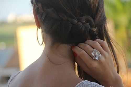 Side back braid