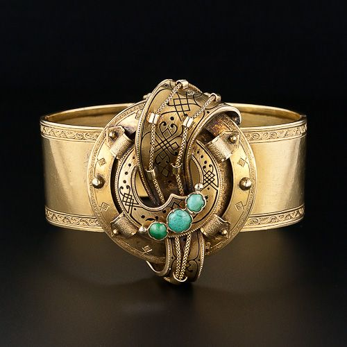 Bracelet | 18K Antique French