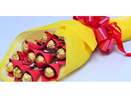 ferrero rocher bouquet how to make