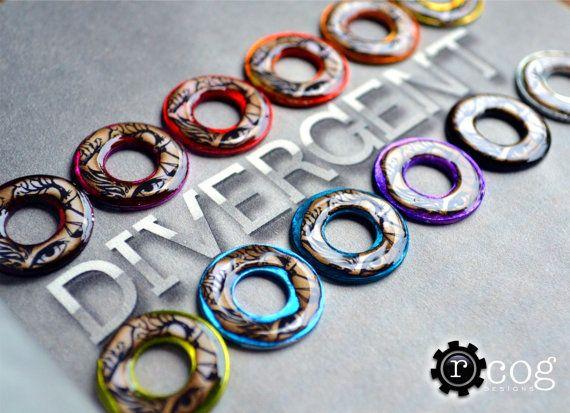 Divergent Necklace Insurgent Necklace Allegiant by RheasRenditions.com